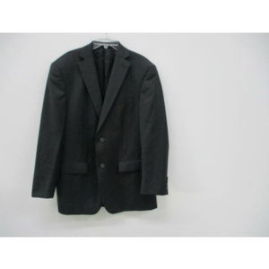 Michael Kors Mens Suit Jacket 100% Wool Black